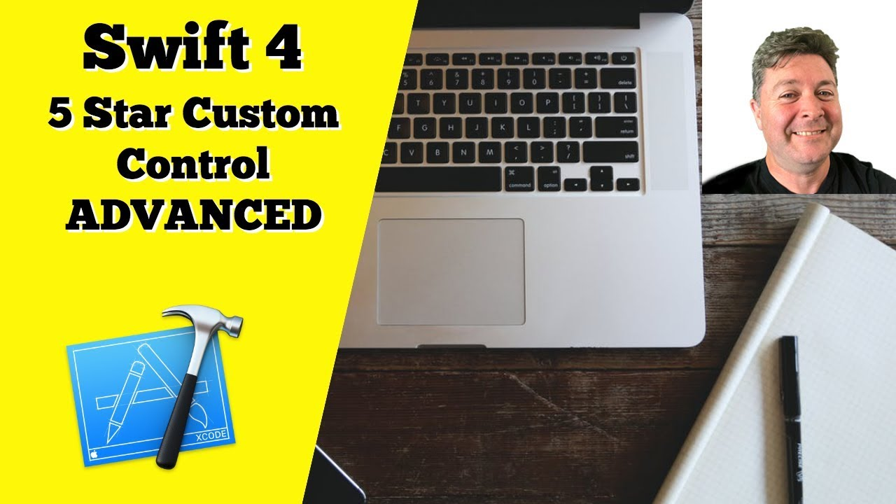 Start developing ios apps (swift): implement a custom control.