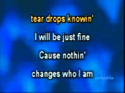 Jessica Andrews - Who I am - Karaoke Lyrics