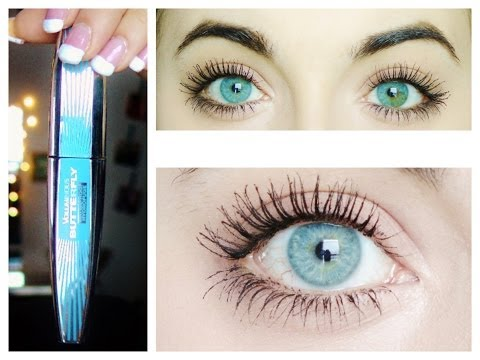 Long Full Dramatic Eyelashes (Loreal Voluminous Butterfly Mascara Review)