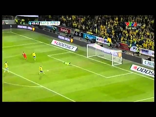 Xem video clip Thụy Điển 2 3 Bồ Đào Nha  Ronaldo một tay đưa đội nhà đến World Cup 2014   VnExpress