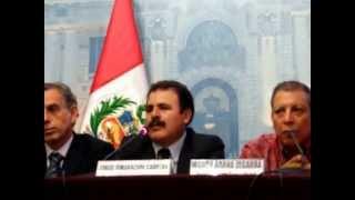 Congresista Jorge Rimarachin: Yanacocha es un Estado dentro del Estado peruano.04-02-15