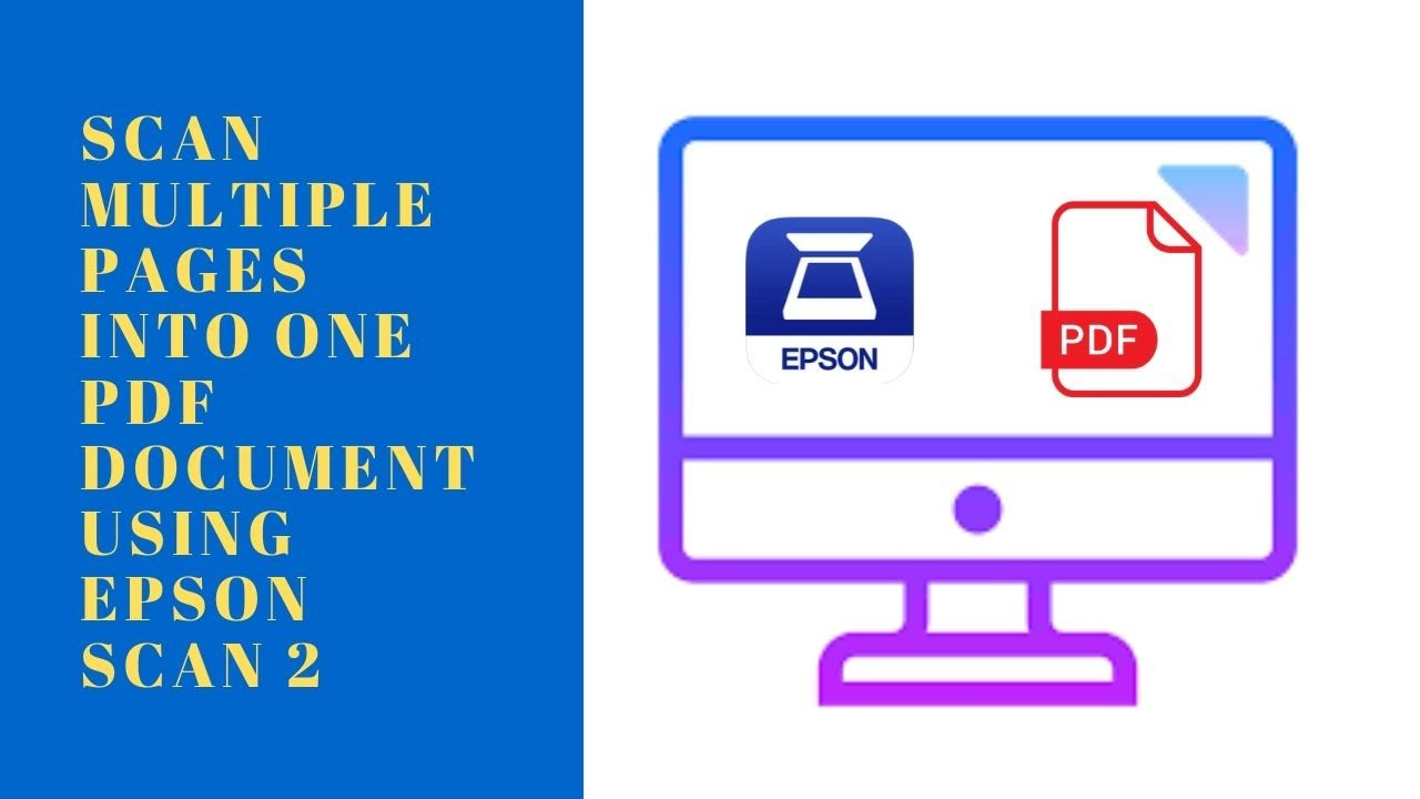 EPSON Scan WF DS-1660W+Logiciel PDF