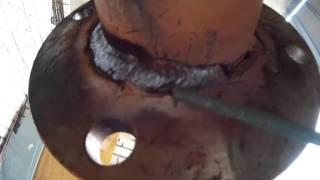 Как начинающему сварщику приварить неповоротный фланец(В продолжении видео по сварке фланцев, будем варить бесповоротный шов., 2016-08-01T16:32:16.000Z)