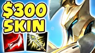 $300 SKIN !! NEW LANCER ZERO HECARIM JUNGLE SPOTLIGHT | WHAT IS WRONG WITH HIS BRAIN?! - Nightblue3