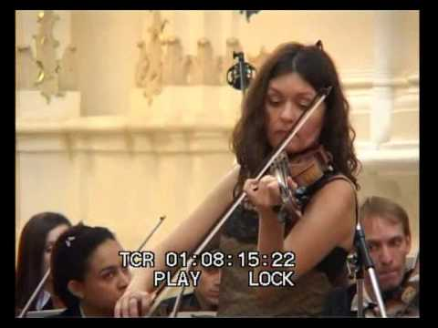 Julia Igonina- Vitali Chaconne (violin and  orchestra)
