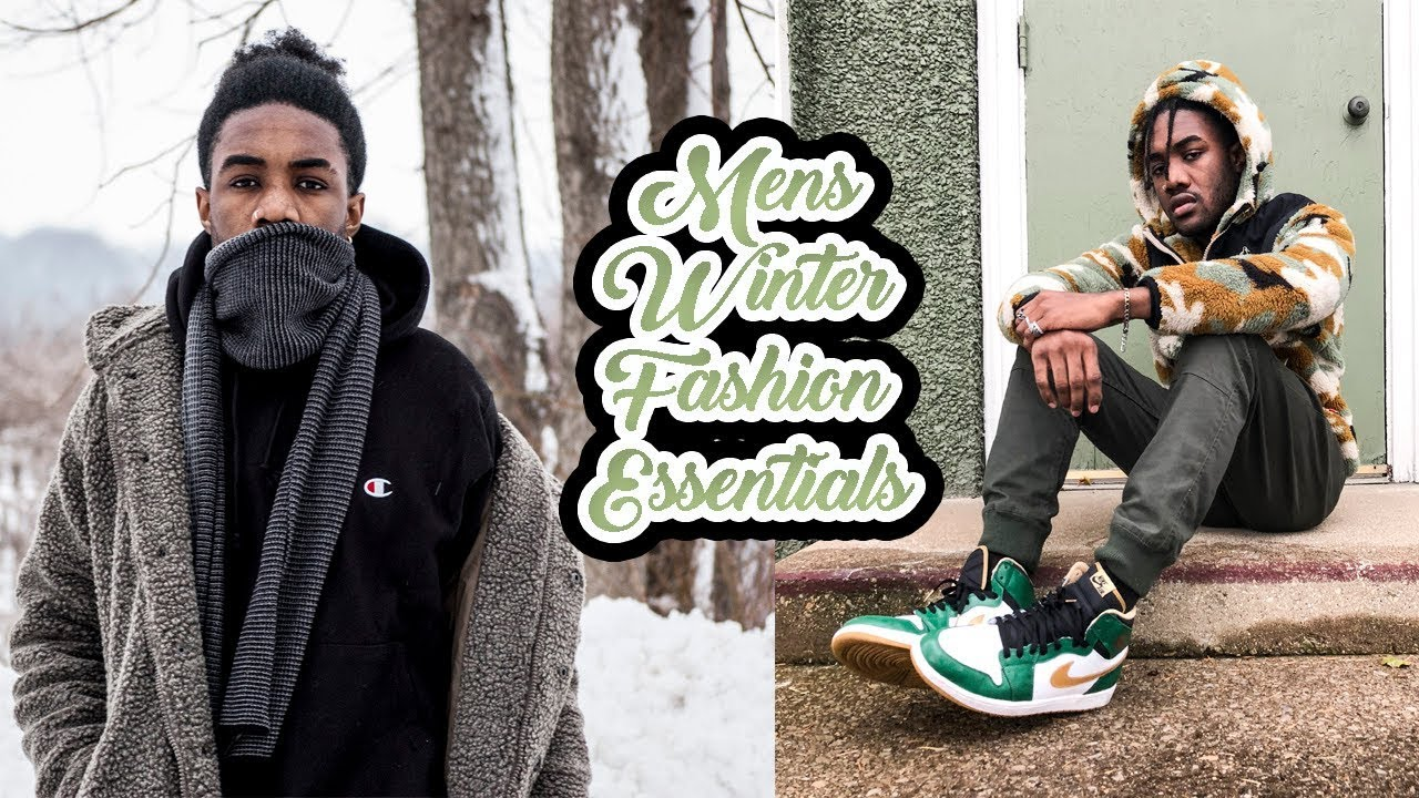 7a8aceaf54a Mens Winter Fashion Essentials Haul 2017