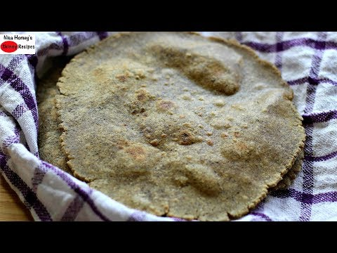 Kuttu Ki Roti - Gluten Free Buckwheat Flour Flatbread - Weight Loss Roti - Navratri Special Recipes