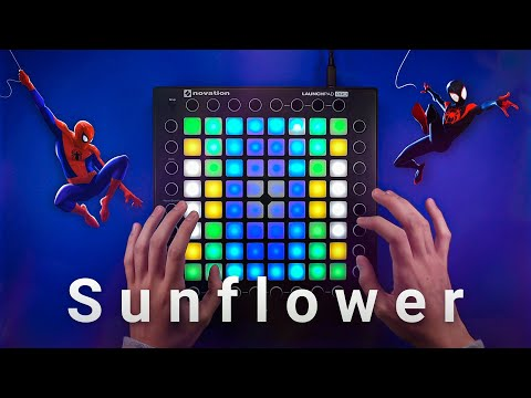 post-malone,-swae-lee---sunflower-(not-your-dope-remix)-|-launchpad-cover-[unipad]