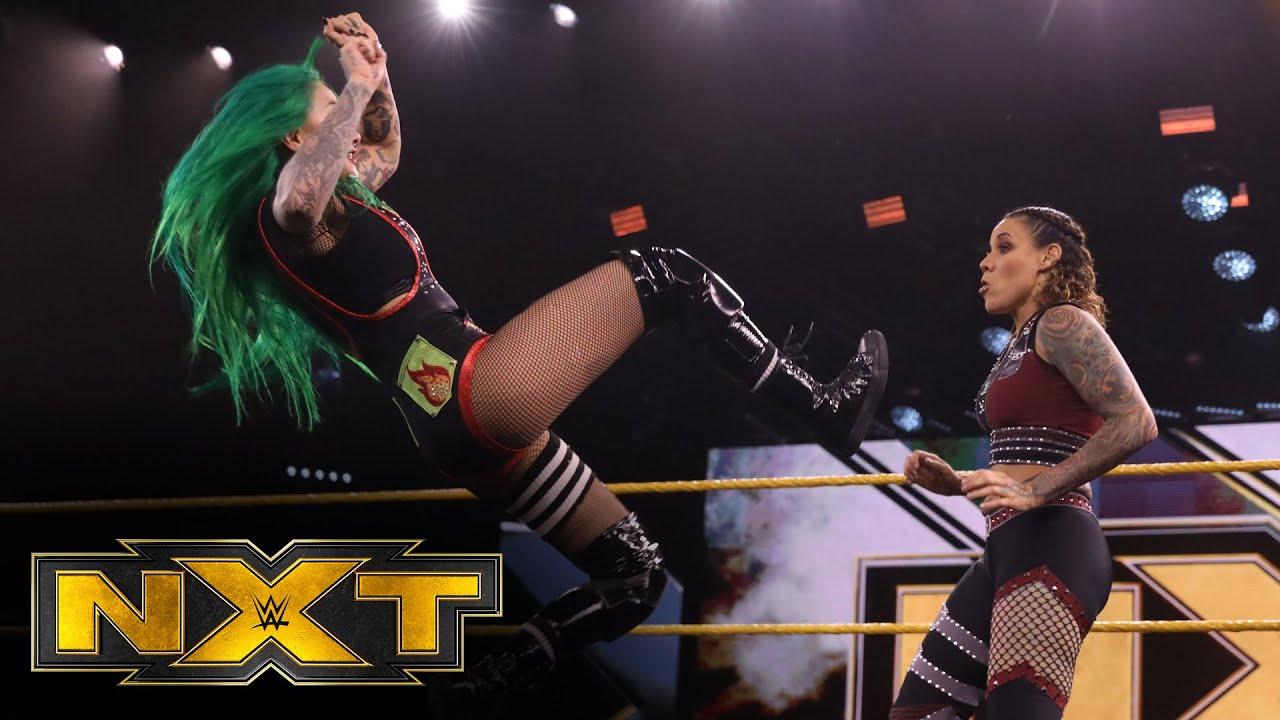 Shotzi Blackheart vs. Mercedes Martinez with Robert Stone and Aliyah: WWE NXT, July 29, 2020