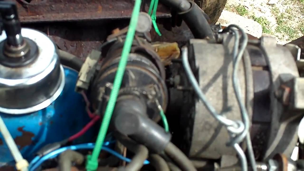 How To Wire a Ford Derby Engine, Part 2  YouTube
