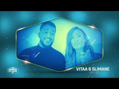 """VITAA & SLIMANE : """"DE L'OR"""" NOMMÉE CHANSON DE L'ANNÉE !"""