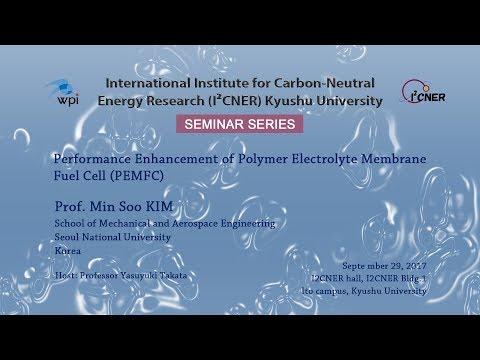 2017/9/29 I²CNER Seminar Series : Prof. Min Soo KIM