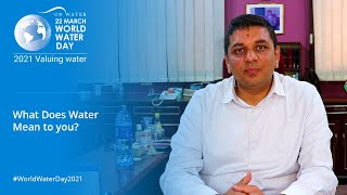 What Does Water Mean to Me - Dr. Harish Bhanderi? EP3