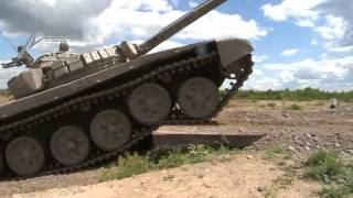 Подготовка к танковому биатлону - 2016