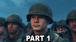 Call of Duty WW2 FULL GAMEPLAY WALKTHROUGH Campaign Mission #1 D-Day. Call of Duty 2017. This Will be the series of THE FULL CAMPAIGN LETS PLAY For COD WW2! ...