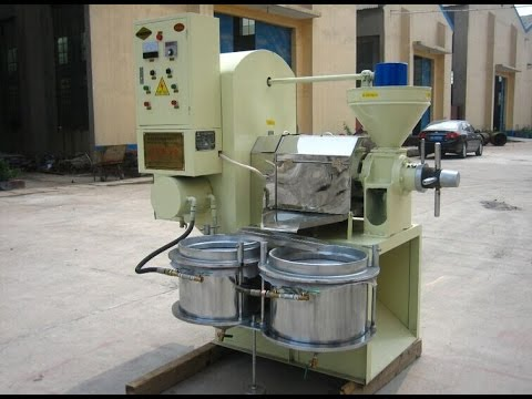 rapeseed, peanuts, soybean, sesame, sunflower seed Small scale oil press with oil refining machine,