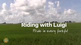 Florida Crystals Rice Farms: Riding with Luigi