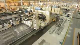 Embraer assembly line