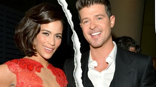 Is Paula Patton being a Bitter, Vindictive Ex to Robin Thicke? | Child Custody Battle