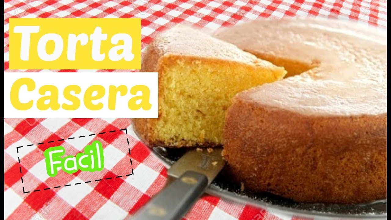 Receta de torta casera venezolana de medio kilo