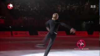 Evgeni Plushenko - Tango Roxanne (Artistry on Ice 2012, Shanghai) TV Dragon thumbnail