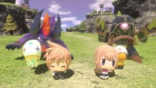 WORLD OF FINAL FANTASY - Trailer d'annonce E3 2015