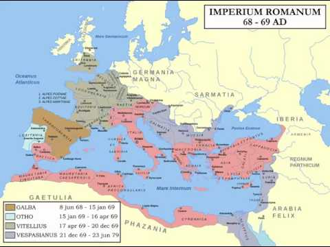 Roman History 14 - Nero And The Three Emperors 54 - 69 AD