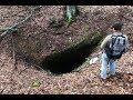 Нашли в горах загадочную Пещеру , а так же Древнее Оружие