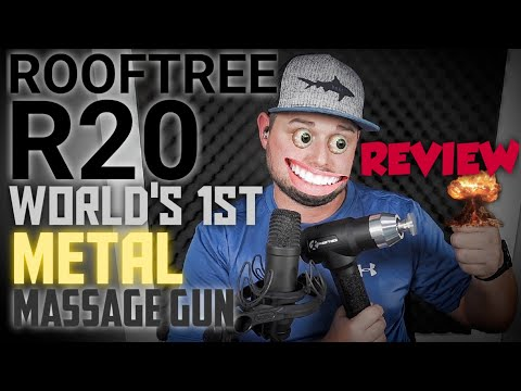rooftree-r20-deep-tissue-massage-gun-review-(the-world's-1st-with-metal-attachments)