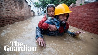 Deadly monsoon floods and landslides hit Nepal
