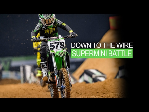Down to the wire SUPERMINI BATTLE | AX Sheffield 2017