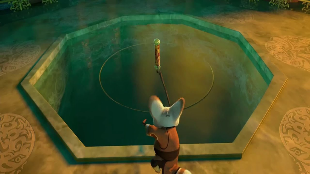 Download Kung Fu Panda 2008 Master Shifu Gets the Dragon Scroll Scene 4K HD Clip