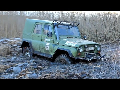 Уаз vs UTV POLARIS RZR XP 1000 [Off-Road 4х4]