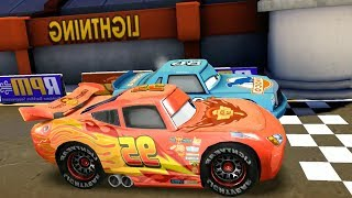 Chick Hicks Vs Lightning McQueen & Francesco Disney PIXAR Cars Racing Game Play
