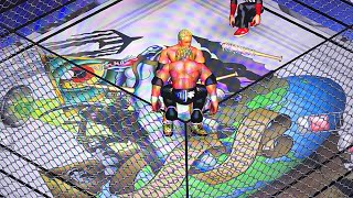 Fire Pro Wrestling World- Ring Edits, Cage Match