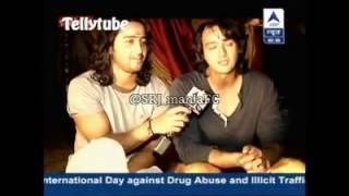 SBS segment on Saurabh raaj jain wid Shaheer sheikh  n Aham  sharma