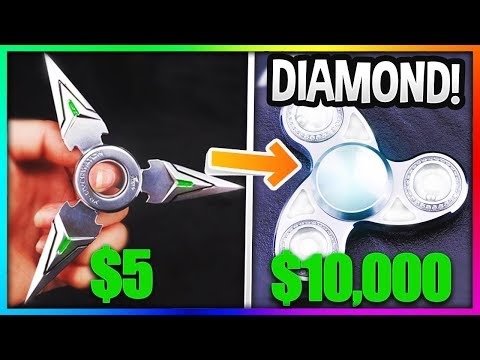 Thumbnail: $5 FIDGET SPINNER Vs. $5000 FIDGET SPINNER! (Insane Fidget Spinner VS Gold Fidget Spinner)