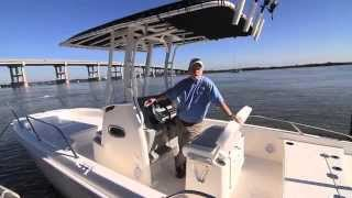 Boston Whaler 240 Dauntless Test 2015- By BoatTest.com