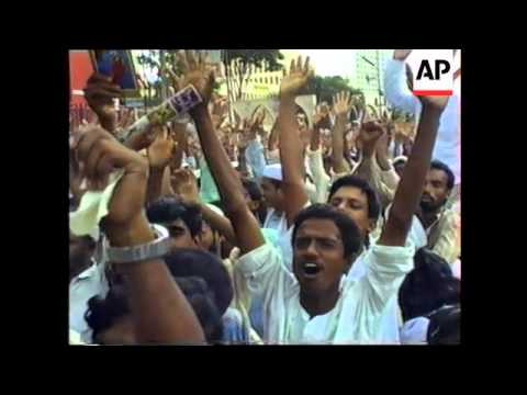 Bangladesh - Muslim Fundamentalist Rally