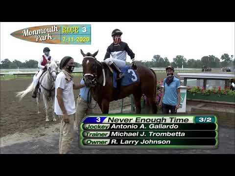 video thumbnail for MONMOUTH PARK 07-11-20 RACE 3