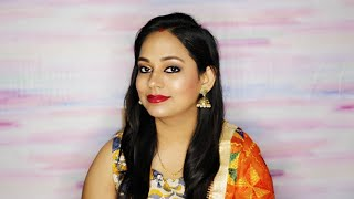 Bold Makeup Look For Durga Puja With Affordable products