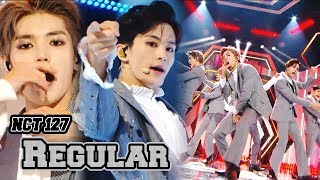 [Comeback Stage] NCT 127 - Regular, 엔시티 127 -  Regular  Show Music core 20181013