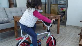 Ayşe Ebrar Zorlu Parkurda Bisiklet Sürdü Çok Eğlendi.