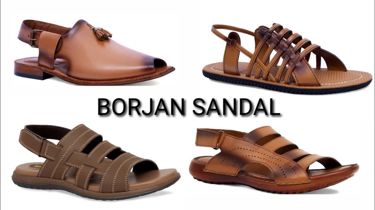 Borjan gents sandal shoes - YouTube