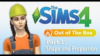 The Sims 4: Out of the Box ~ Building for Beginners (Part 1)