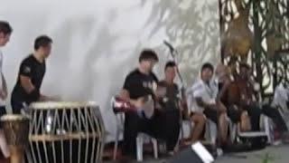 御鼓坊~2012 馬來西亞 雨林藝術節 workshop ~ ( 陳文吉-醒獅鼓SOLO)