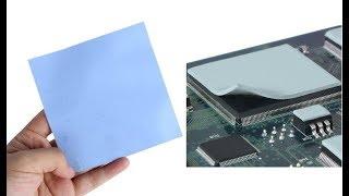 термопрокладки для ноутбуков. Обзор. Тестирование эффективности. 1мм. 0,5 мм