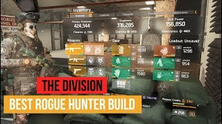 The Division - My Best Solo ROGUE HUNTER Banshee PvP Build