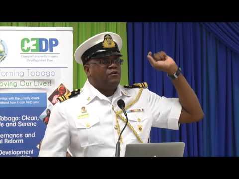 Keeping Tobago Safe & Serene - Lt Cdr Kirk Jean Baptiste, TTCG