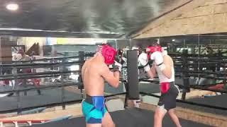 Vergil Ortiz & Hector Tanajara preparing for their July 24 fight on DAZN.